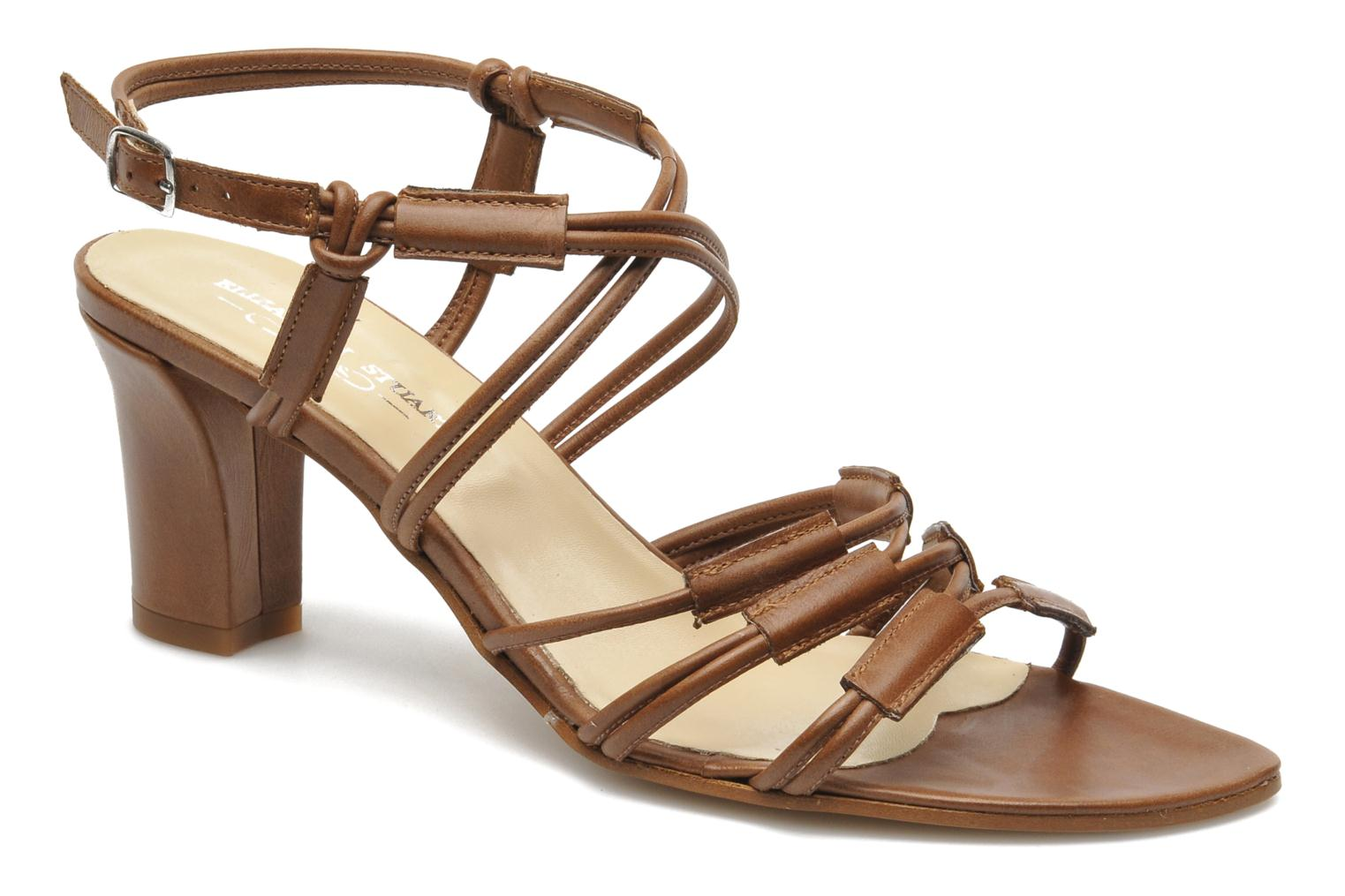 Sandales et nu-pieds Elizabeth Stuart Bakou Marron vue détail/paire