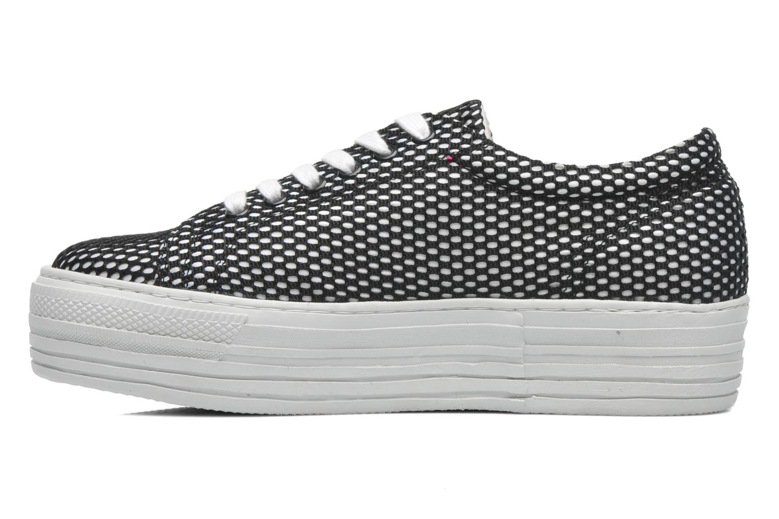 Trainers CULT Kiss Low 738 Black front view