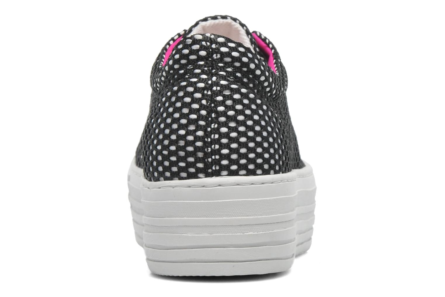 Trainers CULT Kiss Low 738 Black view from the right