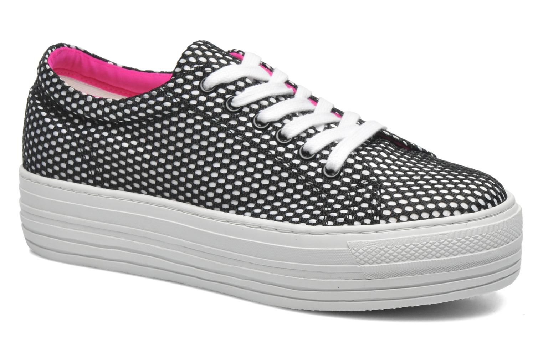 Sneakers CULT Kiss Low 738 Zwart detail