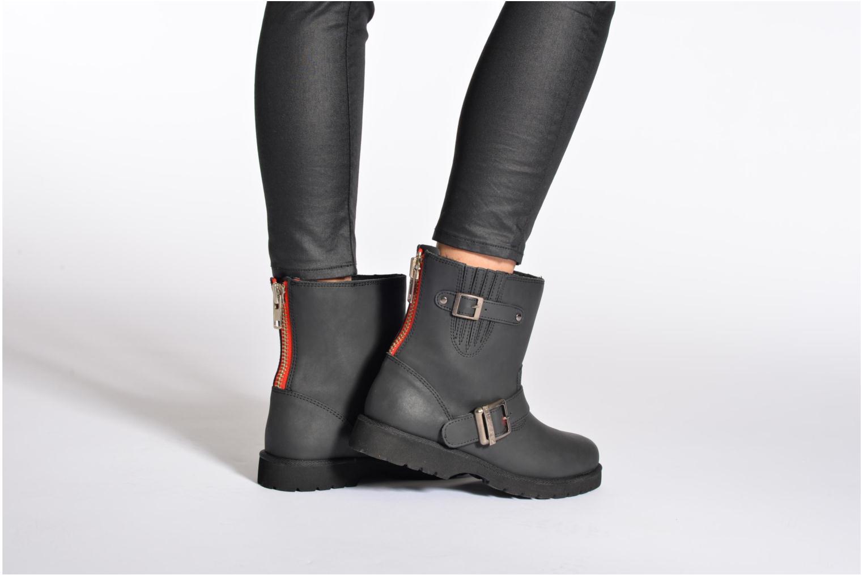 Boots en enkellaarsjes Buffalo Soline Zwart onder