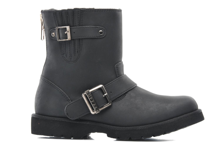 Boots en enkellaarsjes Buffalo Soline Zwart achterkant