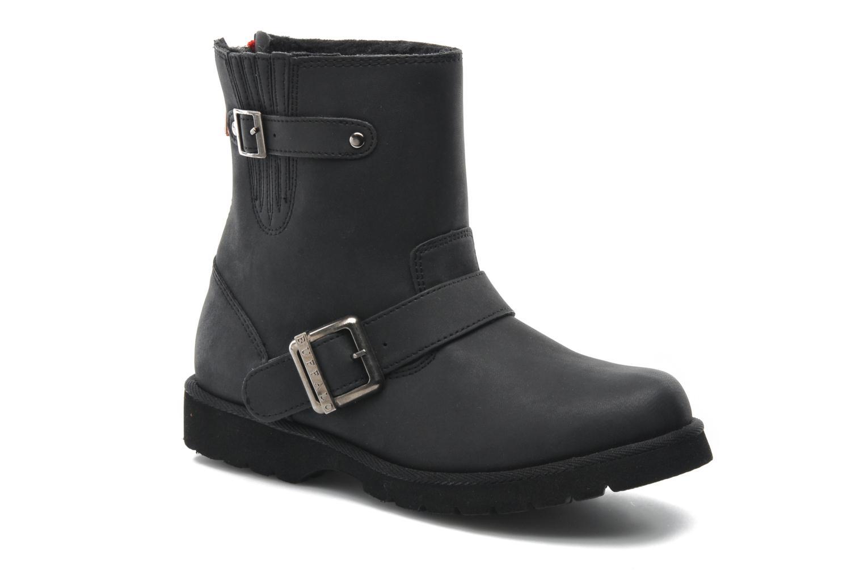 Boots en enkellaarsjes Buffalo Soline Zwart detail