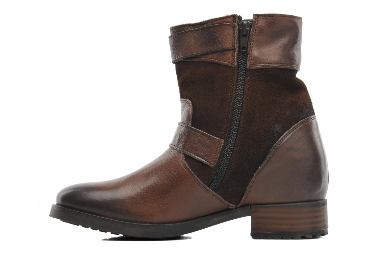 Ankle boots Buffalo Nelly Brown front view