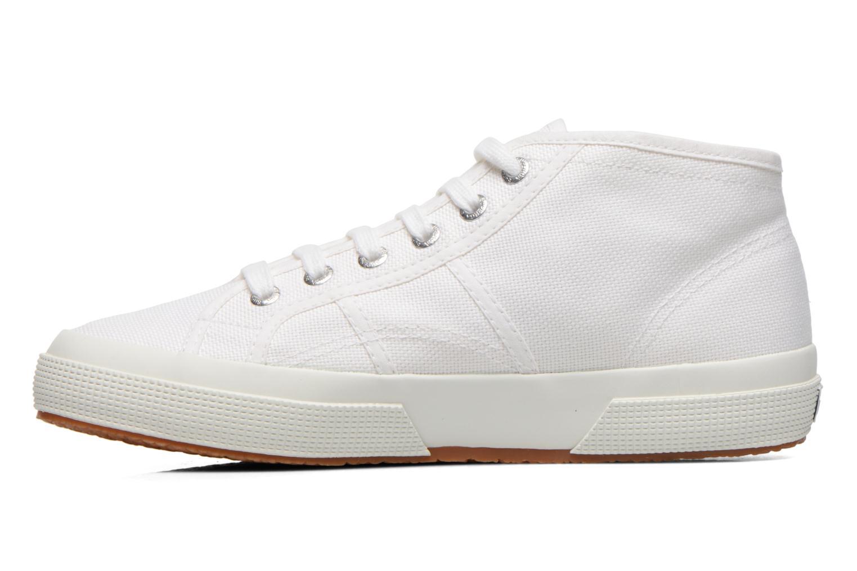 Sneakers Superga 2754 Cotu Mid top W Wit voorkant