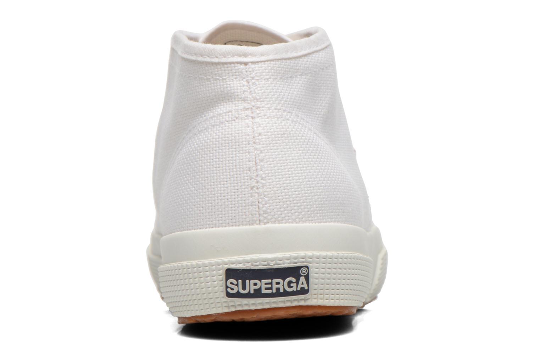 Sneakers Superga 2754 Cotu Mid top W Wit rechts