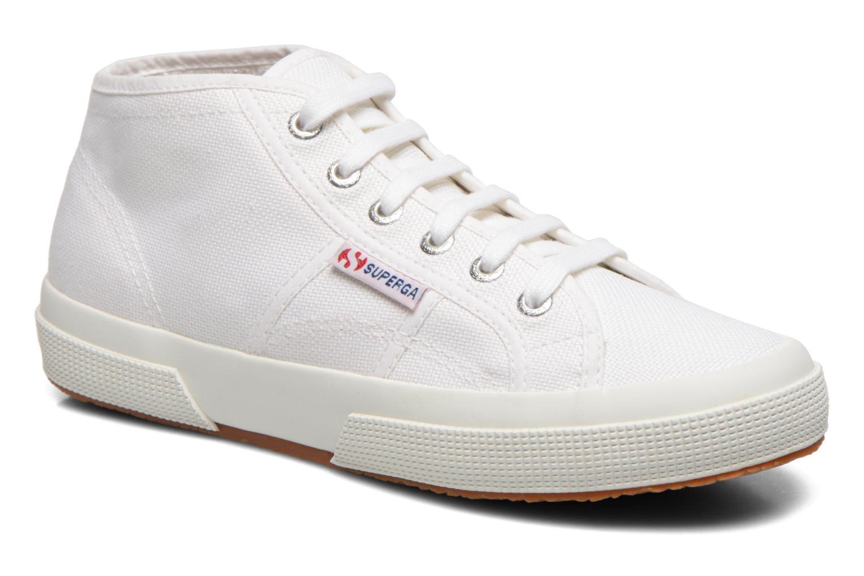 Sneakers Superga 2754 Cotu Mid top W Wit detail