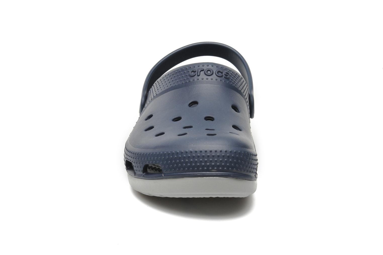 Sandalen Crocs Duet Plus blau schuhe getragen