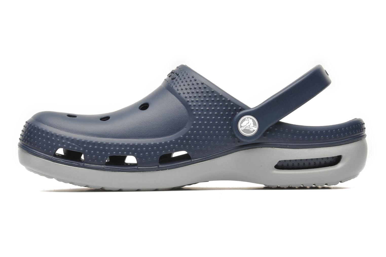 Sandalen Crocs Duet Plus blau ansicht von vorne