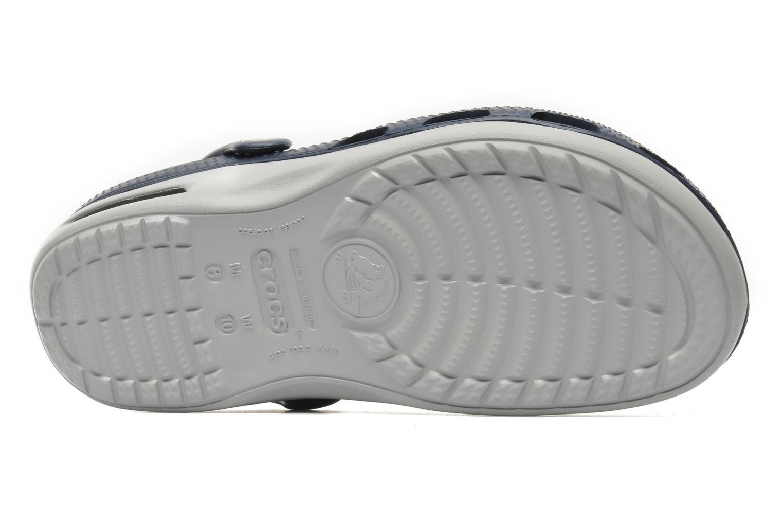 Sandalen Crocs Duet Plus blau ansicht von oben