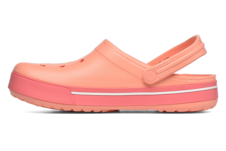 Sandalen Crocs Crocband II.5 Clog orange ansicht von vorne