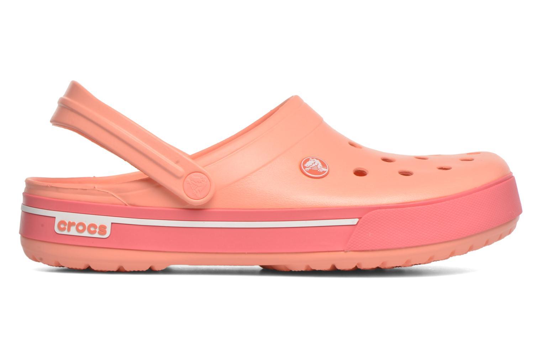 Sandalen Crocs Crocband II.5 Clog orange ansicht von hinten