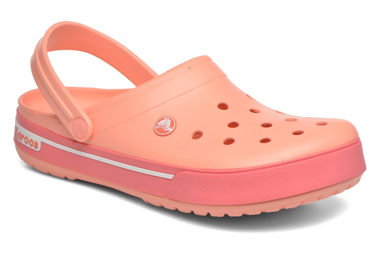 Sandalen Crocs Crocband II.5 Clog orange detaillierte ansicht/modell