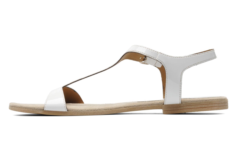 Sandales et nu-pieds Jonak Louise Blanc vue face