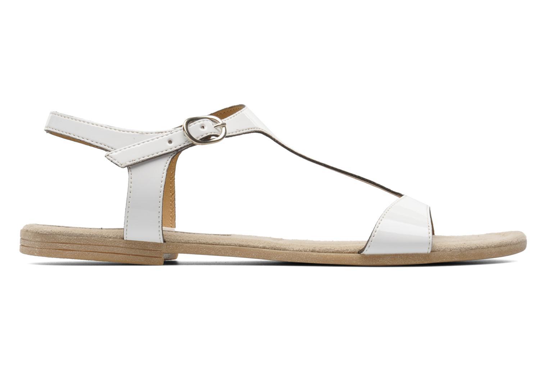 Sandales et nu-pieds Jonak Louise Blanc vue derrière