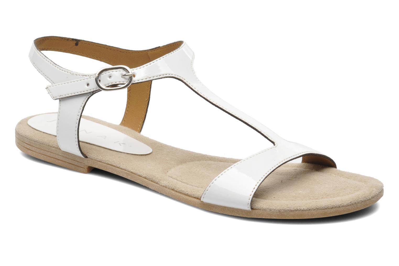 Sandales et nu-pieds Jonak Louise Blanc vue détail/paire