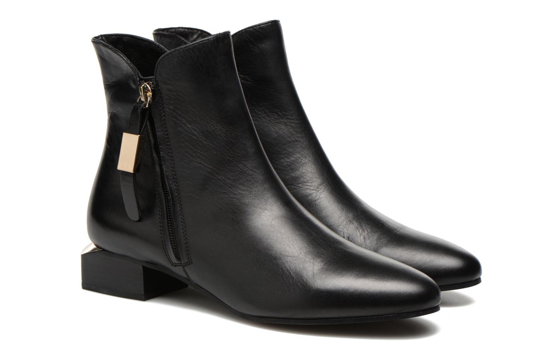 Bottines et boots See by Chloé NARA LOW Noir vue 3/4
