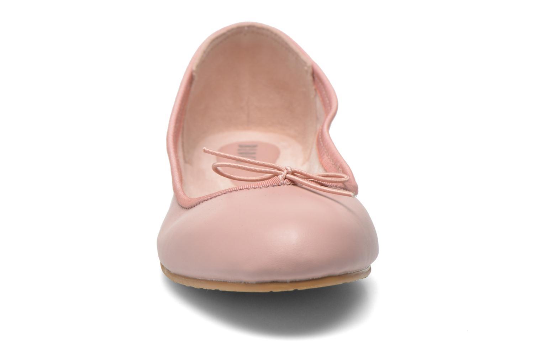 Ballerines Bloch ALAIR BALLERINA Rose vue portées chaussures