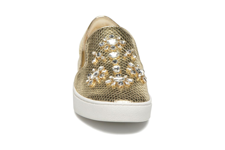 Baskets Michael Michael Kors Keaton Slip On Or et bronze vue portées chaussures
