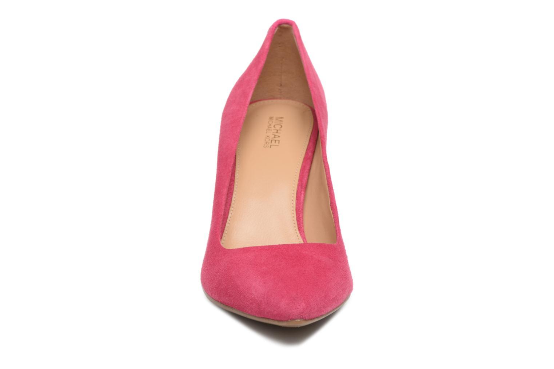 Escarpins Michael Michael Kors Mk Flex Mid Pump Rose vue portées chaussures