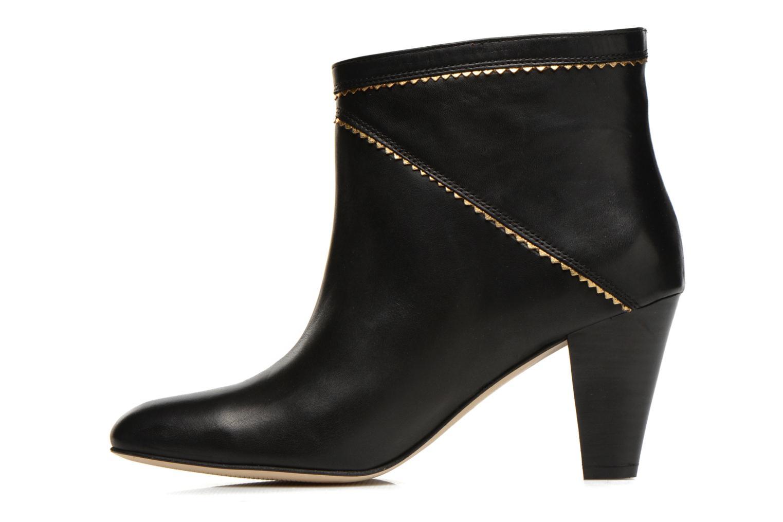 Bottines et boots Petite mendigote Frelon Noir vue face