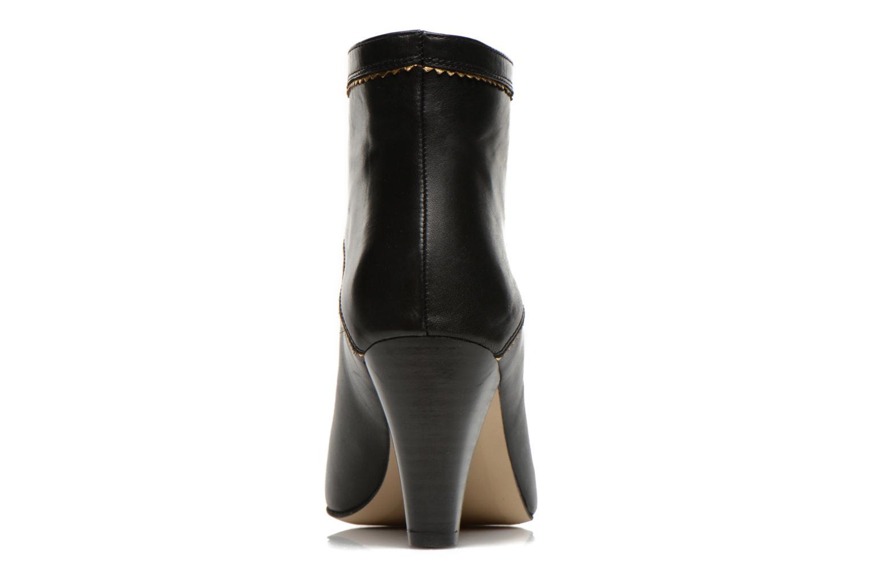 Bottines et boots Petite mendigote Frelon Noir vue droite