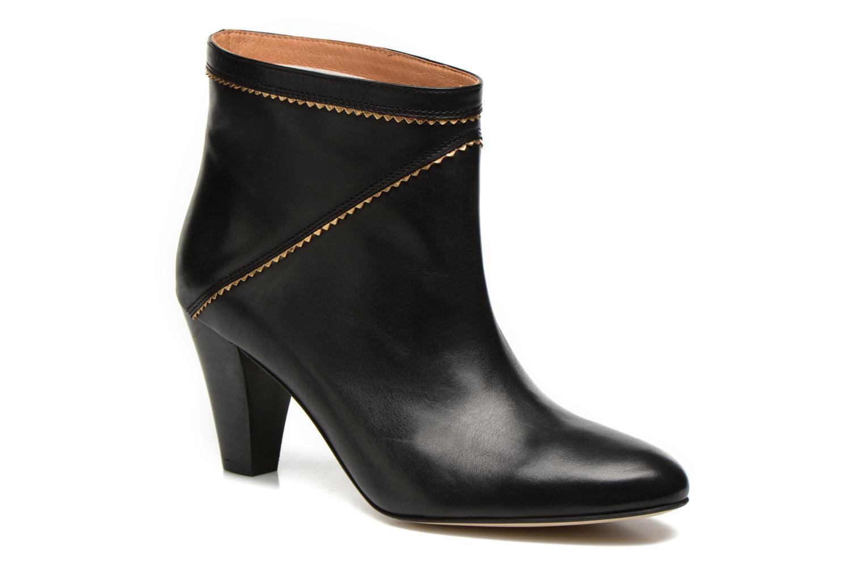 Bottines et boots Petite mendigote Frelon Noir vue détail/paire