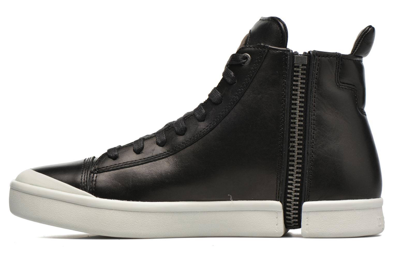 Sneaker Diesel S-Nentish schwarz ansicht von vorne