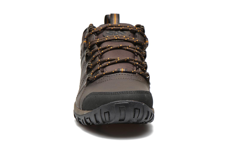 Chaussures de sport Columbia Peakfreak Venture Waterproof Marron vue portées chaussures