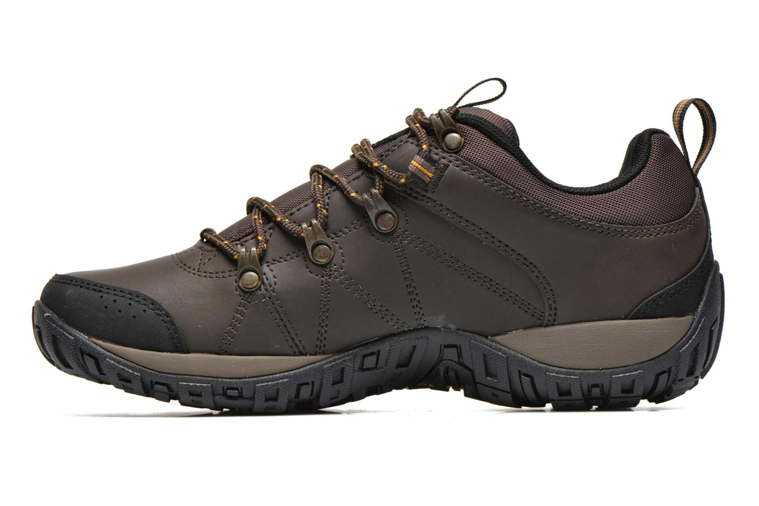 Chaussures de sport Columbia Peakfreak Venture Waterproof Marron vue face