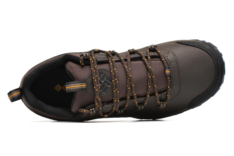 Chaussures de sport Columbia Peakfreak Venture Waterproof Marron vue gauche