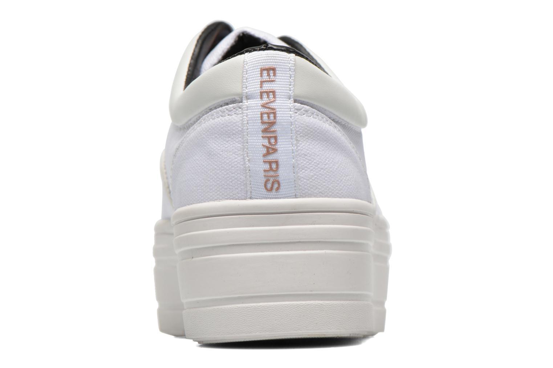 Sneaker Eleven paris Posh weiß ansicht von rechts