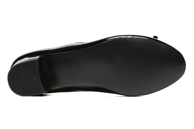 Ballerines I Love Shoes Kibaby Noir vue haut