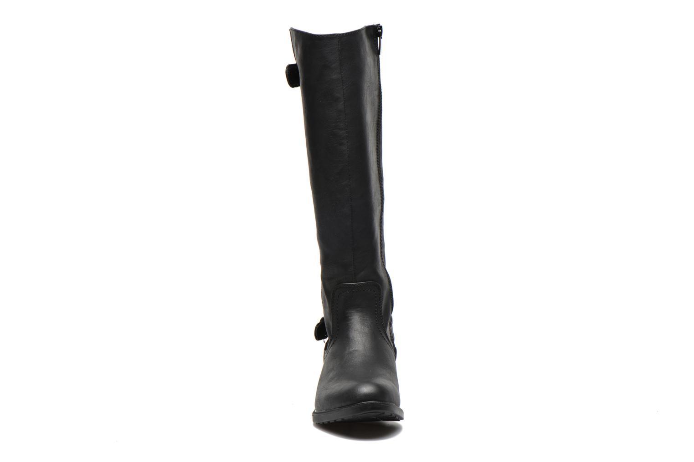 Bottes I Love Shoes Superbiol Noir vue portées chaussures