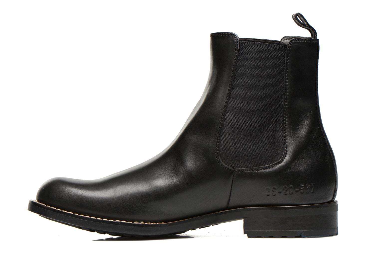 Boots en enkellaarsjes G-Star Manor Cavalry Ankle Zwart voorkant