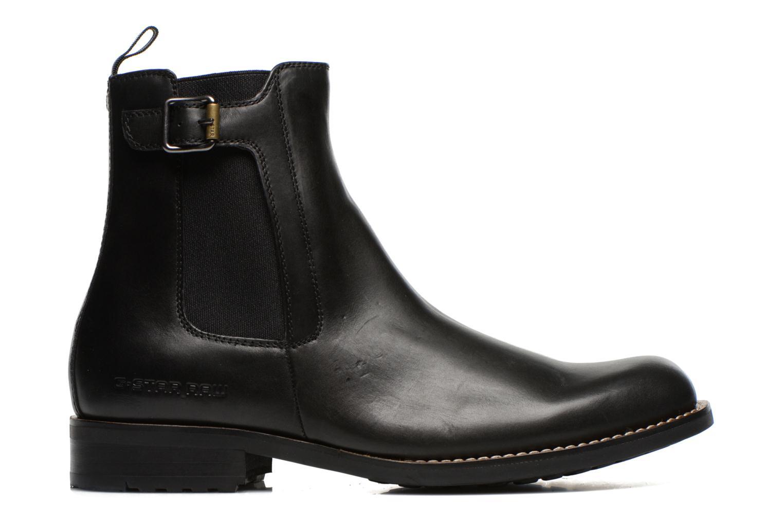 Boots en enkellaarsjes G-Star Manor Cavalry Ankle Zwart achterkant