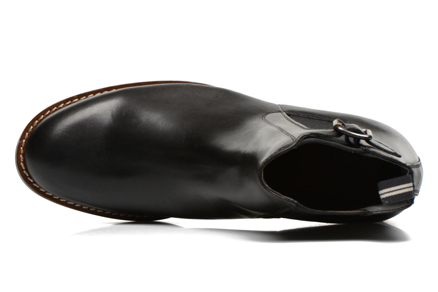 Manor Cavalry Ankle Black leather