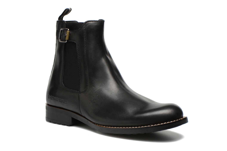 Boots en enkellaarsjes G-Star Manor Cavalry Ankle Zwart detail