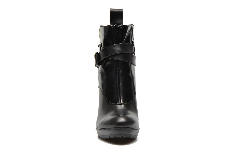 Bottines et boots G-Star Shona Cheval Strap Shine Noir vue portées chaussures