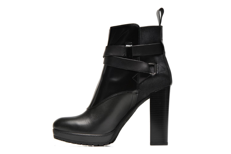 Bottines et boots G-Star Shona Cheval Strap Shine Noir vue face
