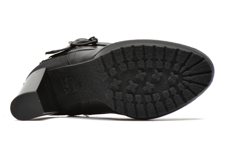 Bottines et boots G-Star Shona Cheval Strap Shine Noir vue haut