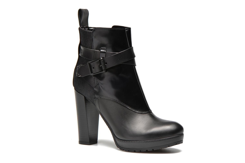 Bottines et boots G-Star Shona Cheval Strap Shine Noir vue détail/paire