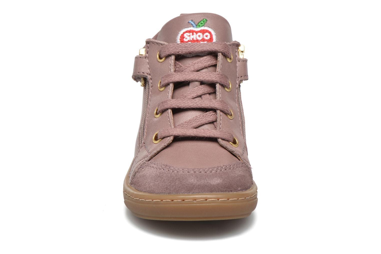 Bottines et boots Shoo Pom Bouba Bi Zip Lipiz Rose vue portées chaussures