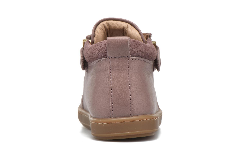 Bottines et boots Shoo Pom Bouba Bi Zip Lipiz Rose vue droite