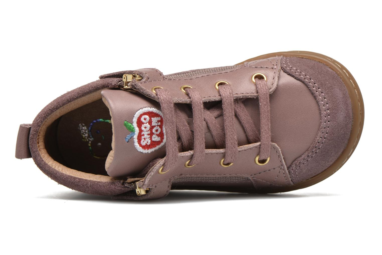 Bottines et boots Shoo Pom Bouba Bi Zip Lipiz Rose vue gauche