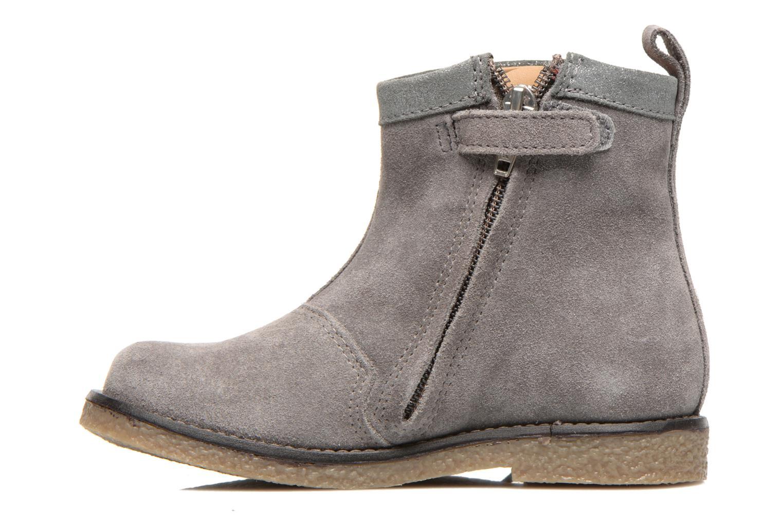Bottines et boots Shoo Pom Hike Boots Fringe Gris vue face