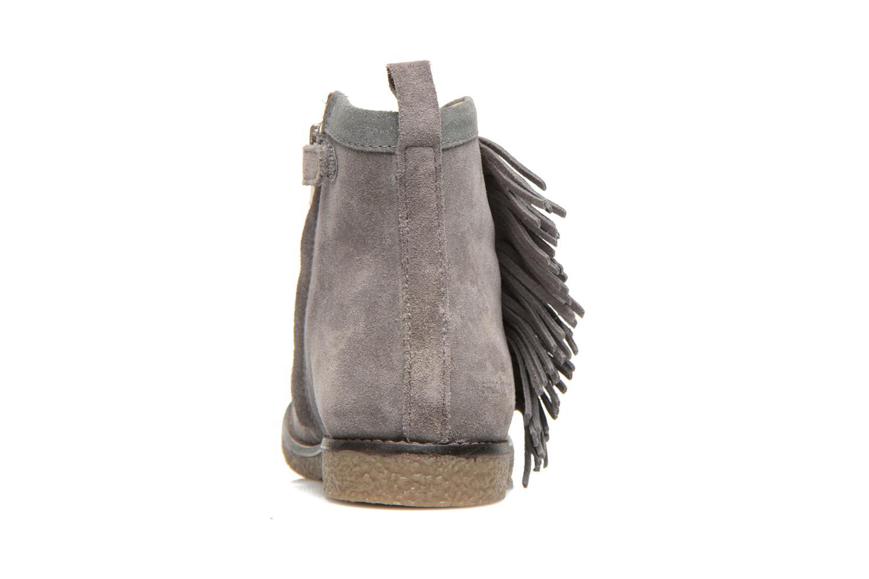 Bottines et boots Shoo Pom Hike Boots Fringe Gris vue droite