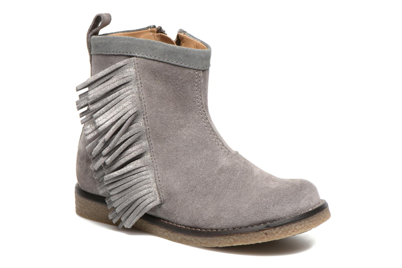 Hike Boots Fringe Gris Argent