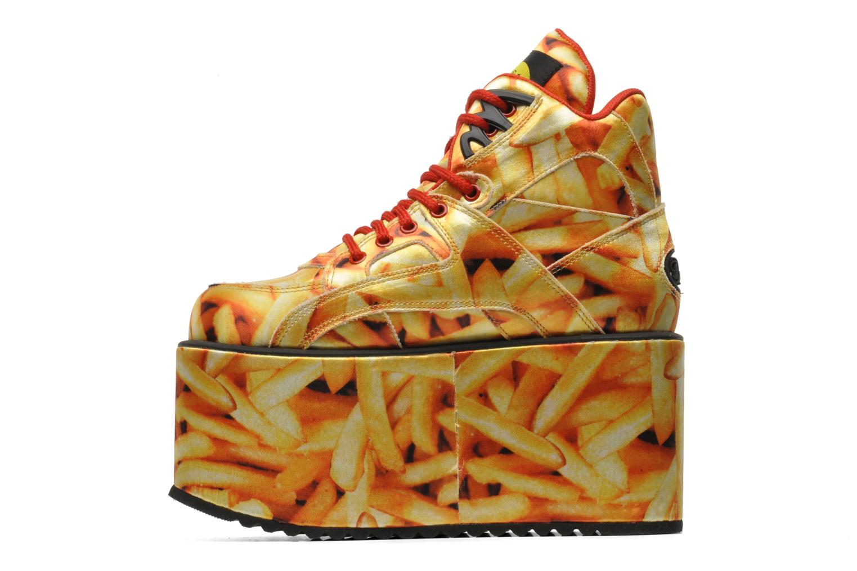 Sneakers Buffalo Canvas Giallo immagine frontale