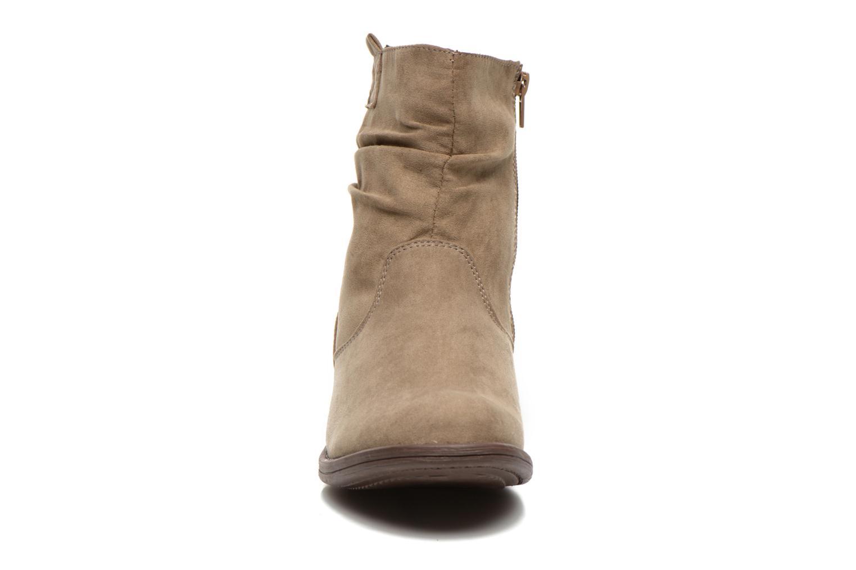 Bottines et boots I Love Shoes Thoni Beige vue portées chaussures